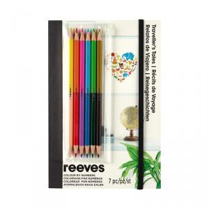 Set cuaderno A5 para colorear viajes