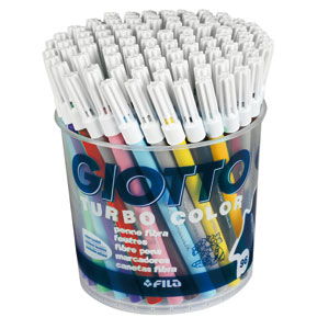 Rotuladores de color Giotto turbo 96 colores