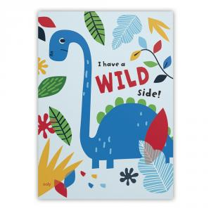 Set 2 cuadernos de dbujo 21x29,2cm 32hj dinosaurios