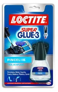 Pegamento Super Glue 5 gramos. Pincel