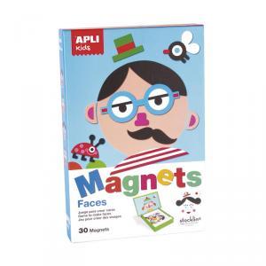 Juego para crear caras Magnets