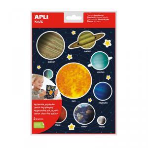 Gomets Sistema Solar blíster 2 hojas