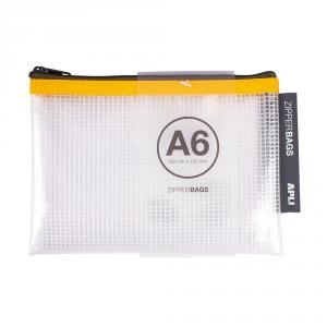 Portatodo A6 Zipper Bag transparente