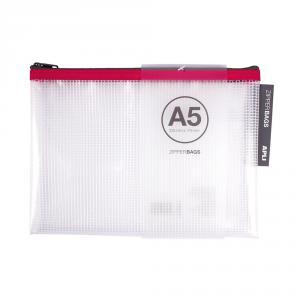 Portatodo A5 Zipper Bag transparente