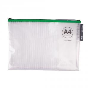 Portatodo A4 Zipper transparente