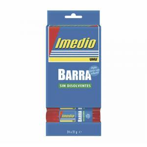 Pegamento barra Imedio 21gr. Caja 24 unidades