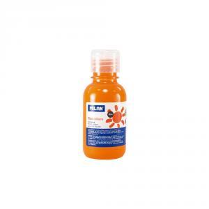 Témpera naranja fluo 125ml