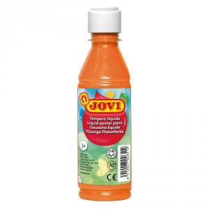Témpera líquida naranja 500 ml.