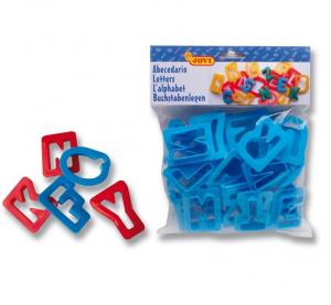 Moldes plastilina abecedario blíster 26uds