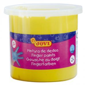Pintura dedos Jovi 125 ml amarillo unidad