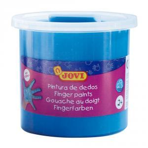 Pintura de dedos 125 ml Jovi azul