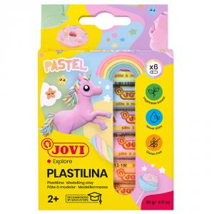 Plastilina Jovi pastel 6 colores
