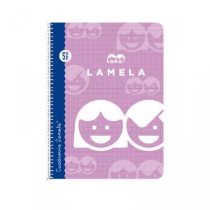 Cuaderno Cuadrovía Lamela cuarto 5mm 40h