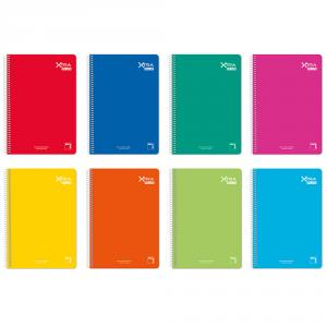Bloc cuarto liso Xtra Plus 80hj 90gr (colores surtidos)