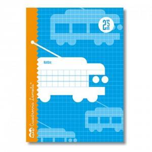Cuaderno Cuadrovía Lamela cuarto 2,5mm 30h