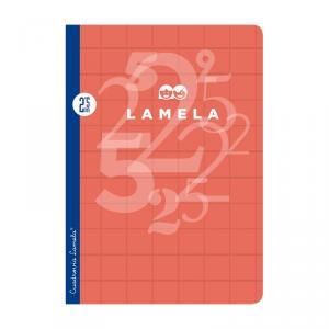 Cuaderno Cuadrovía Lamela folio 2,5mm 50h