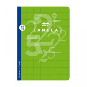 Cuaderno Cuadrovía Lamela folio 4mm 50h