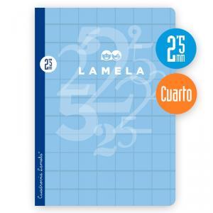 Cuaderno Cuadrovía 2,5mm cuarto 50h
