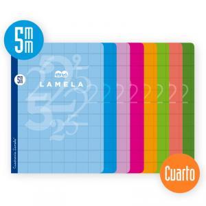 Cuaderno Cuadrovía 5mm cuarto 50h