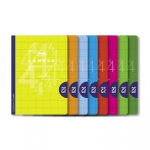 Pack Cuadrovía 5 Libreta Lamela A4 - C 2,5 - 50 h.