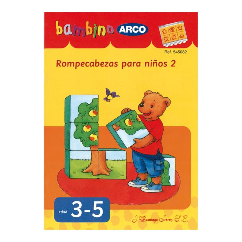 Rompecabezas para niños, cuaderno 2. Bambino Arco