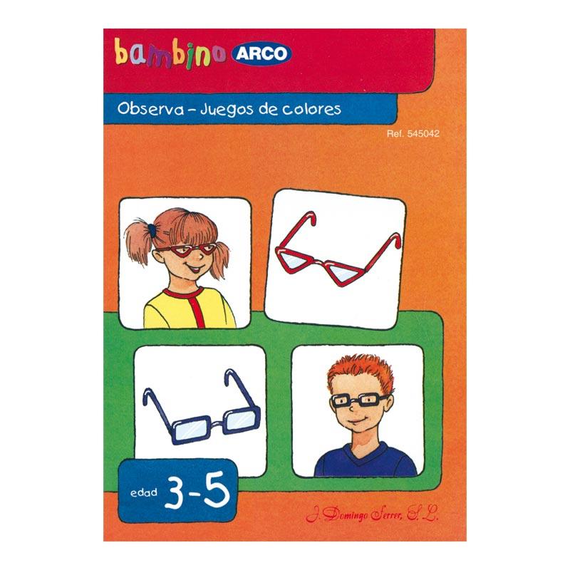 Bambino Arco: Observa, juegos de colores