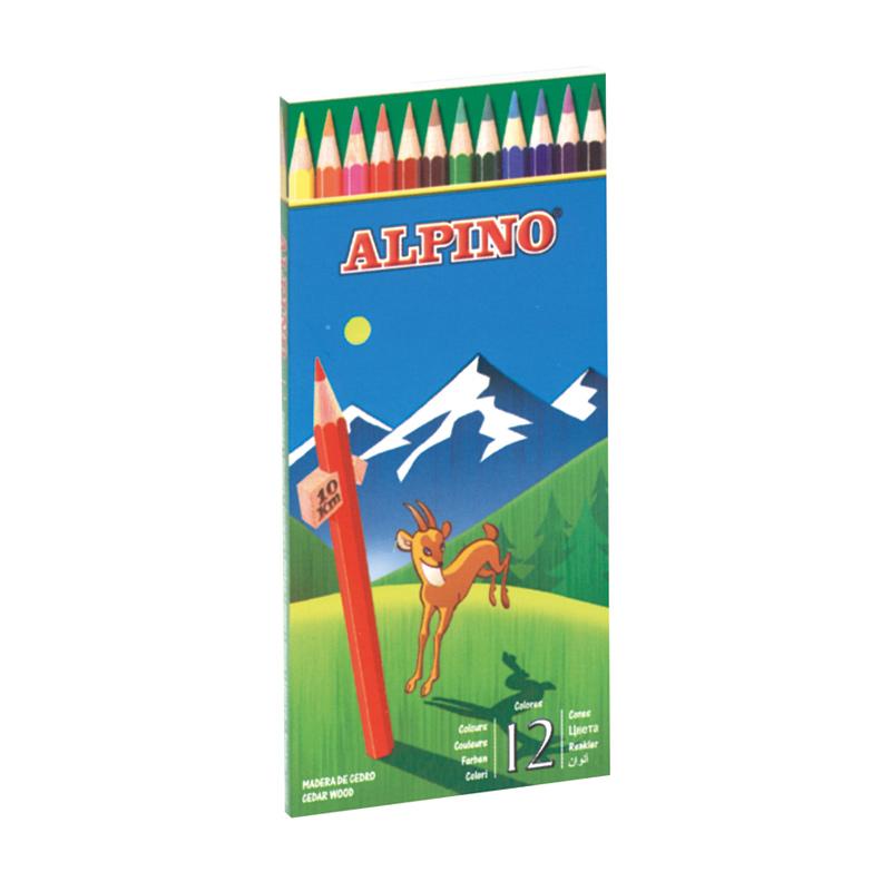 Lápiz de color Alpino. 12 Colores.