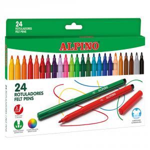 Rotulador Alpino 24 colores