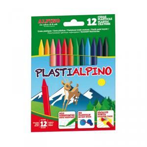 Cera Plastialpino 12 colores