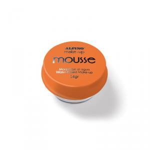 Maquillaje mousse naranja Alpino blíster 14gr