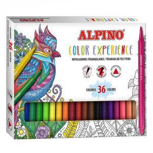 Rotulador Alpino Color Experience 36 colores
