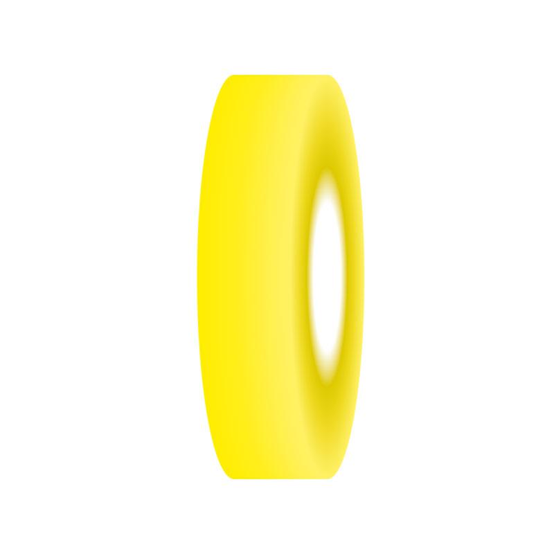 Cinta adhesiva amarilla