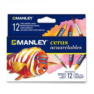 Ceras acuarelables (12 col.)