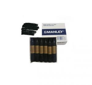 Cera Manley color negro 12 unidades