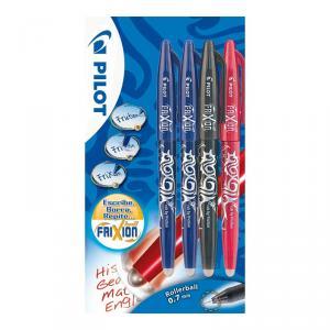 Bolígrafos Frixion Bl. 2 Azul 1 Negro 1 rojo