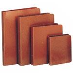 Carpeta de color marrón
