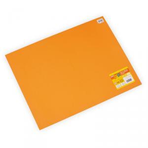 Bolsa 10 láminas Goma EVA Naranja (45x60cm)