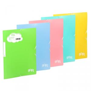 Carpeta folio solapas Soft PP color surtido