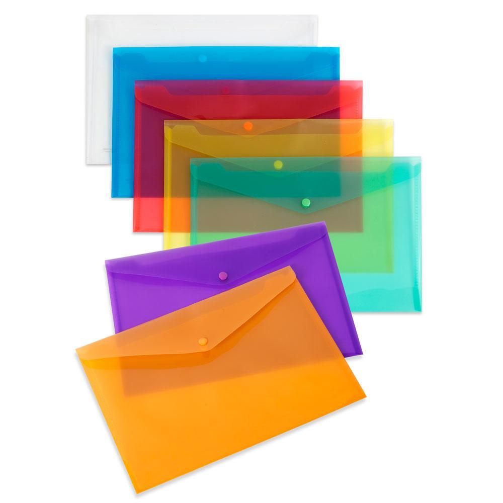 Sobre folio PP violeta