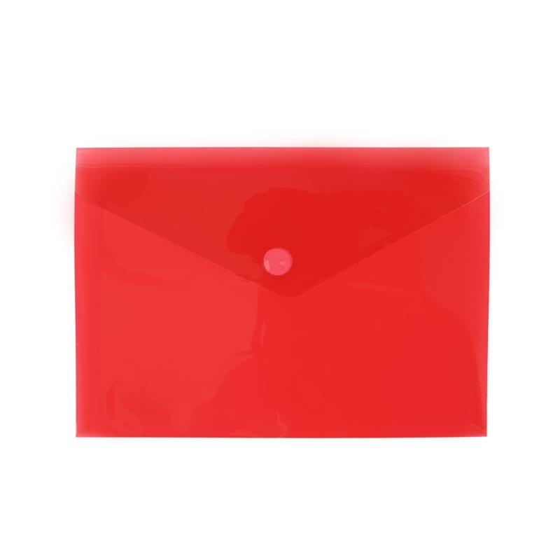 Sobre de clip Rojo A4