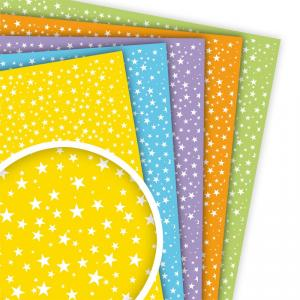 Goma EVA decorada estrellas (45x30cm)