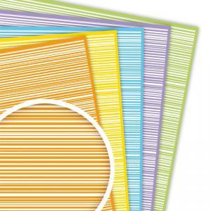 Goma EVA decorada rayas (45x30cm)
