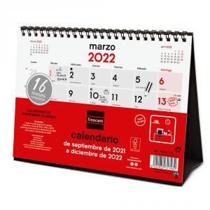 Calendario sobremesa S 2021/2022