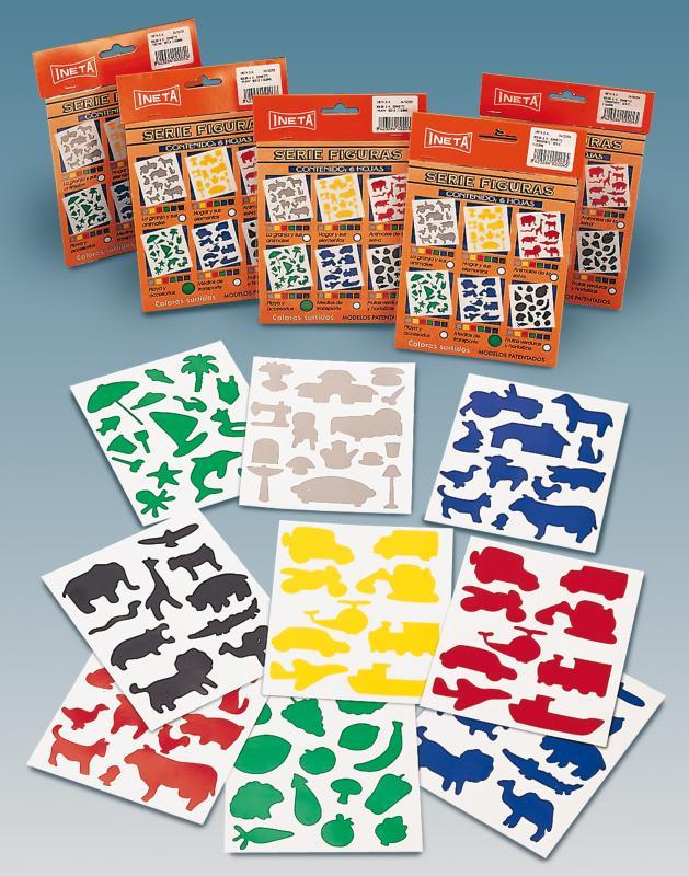 M-GOMET FRUTAS 6 colores INETA