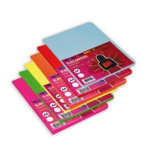 Subcarpeta A4 paquete 15uds 180gr color surtido intenso