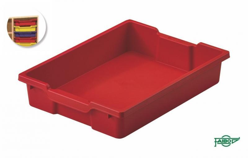 Bandeja 420x310x73mm rojo
