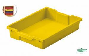 Bandeja 420x310x73mm amarillo