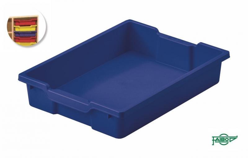 Bandeja 420x310x73mm azul