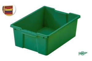 Cubeta 42x31x14,8cm verde