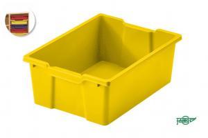 Cubeta 42x31x14,8cm amarillo